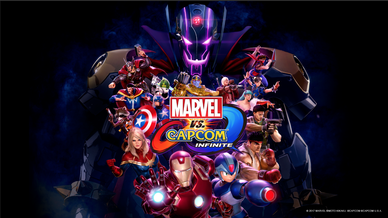 Marvel Vs Capcom Infinite Wallpaper