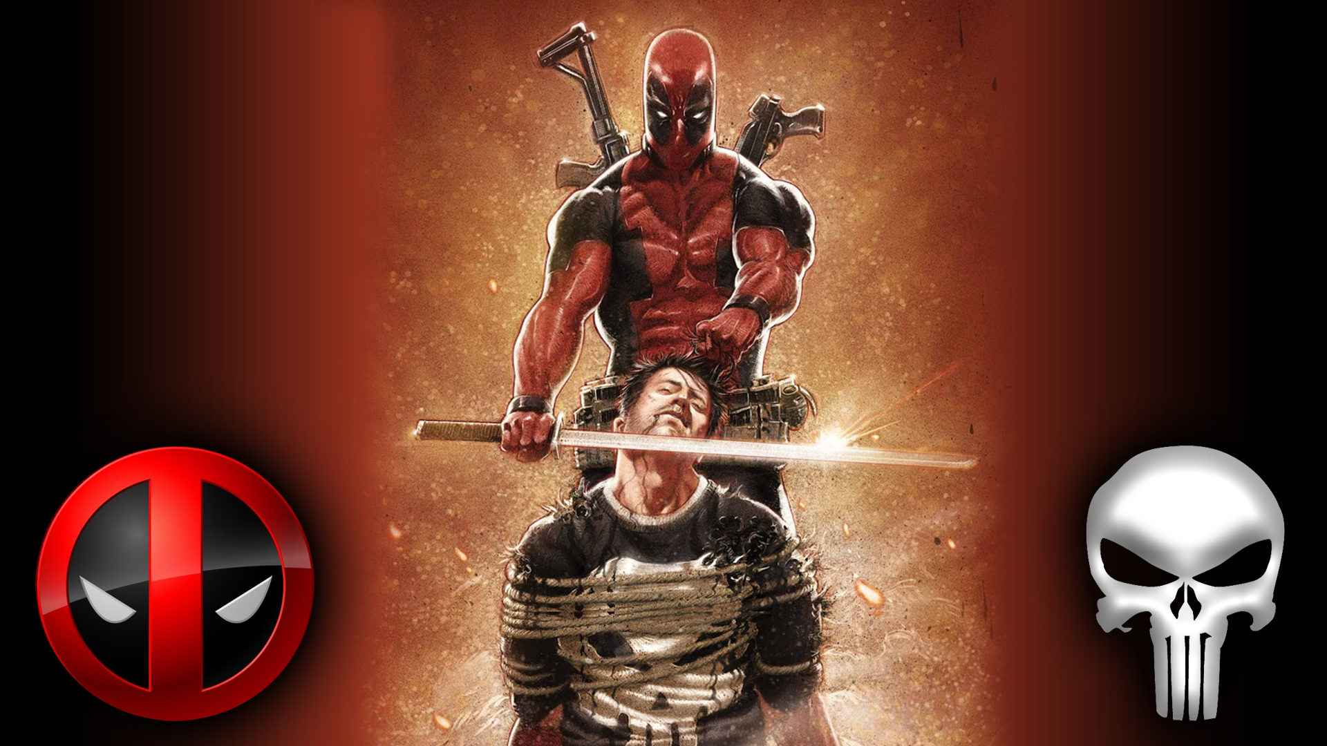 Deadpool executing The Punisher