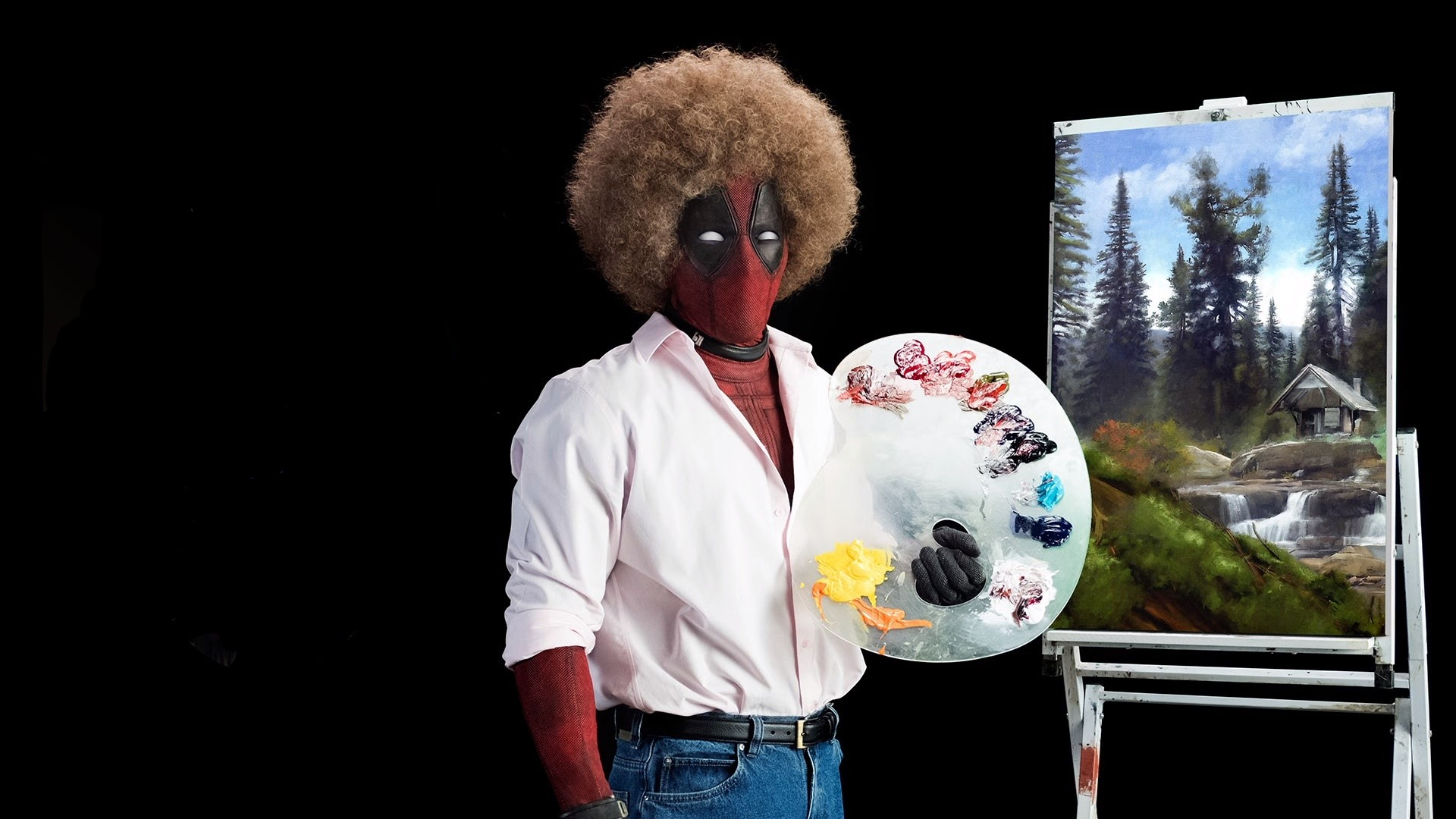 Deadpool is Bob Ross
