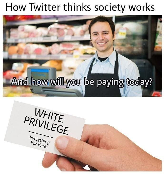 How twitter thinks society works