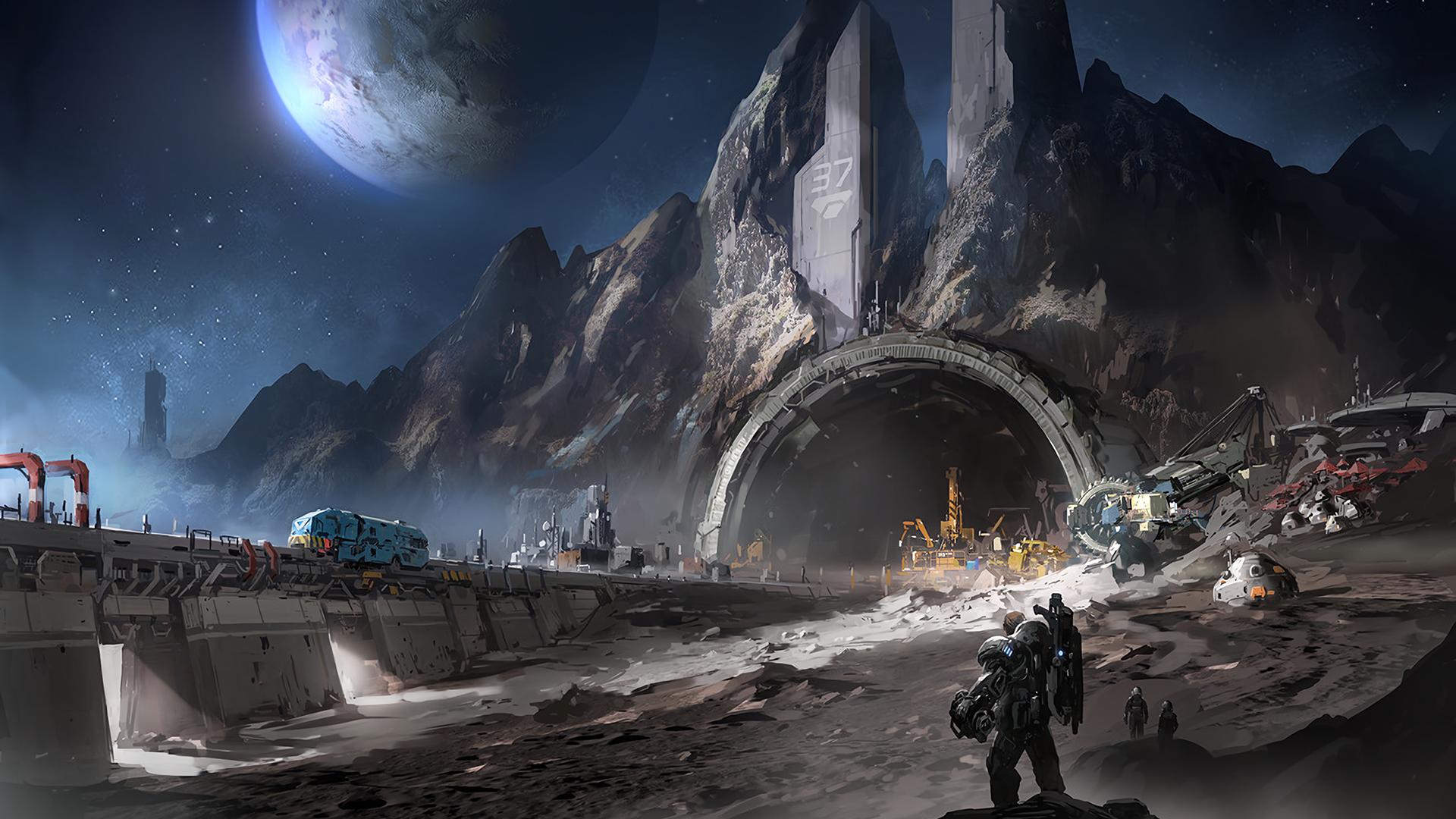 Moon mine myconfinedspace - Mining images hd ...