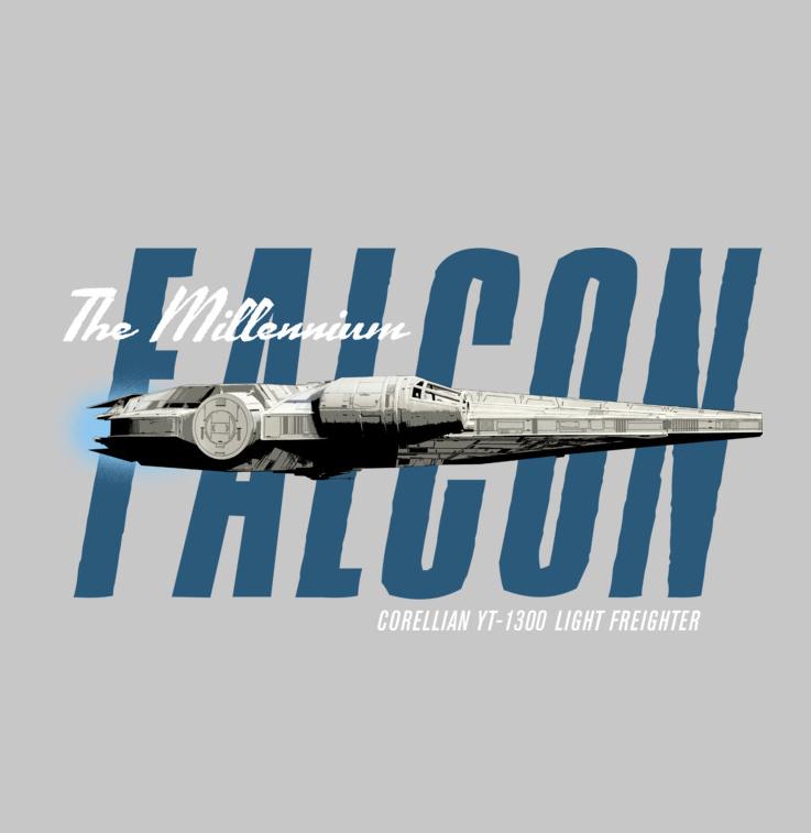 The Millennium Falcon Corellian YT1300 Light Freighter