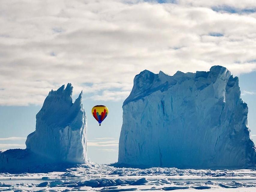 ice berg ballooning