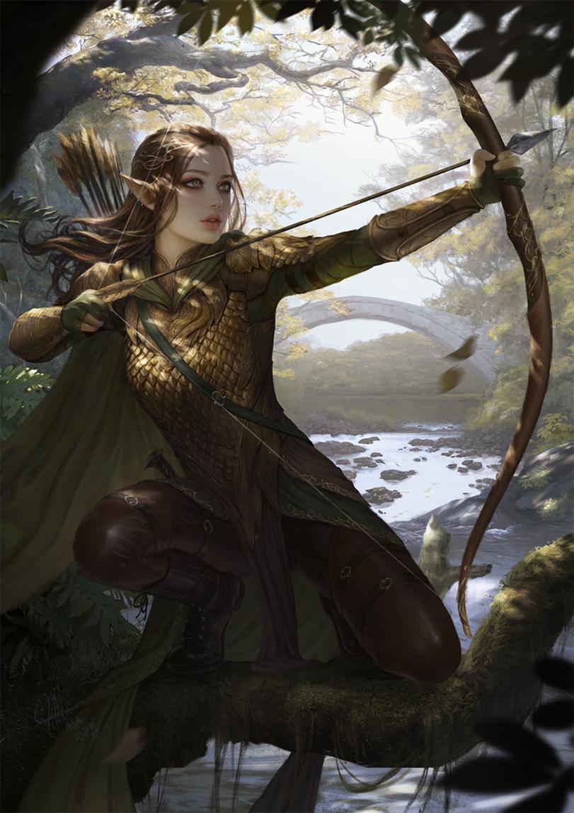 River Elf Archer