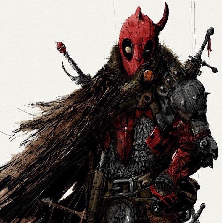 Viking Deadpool