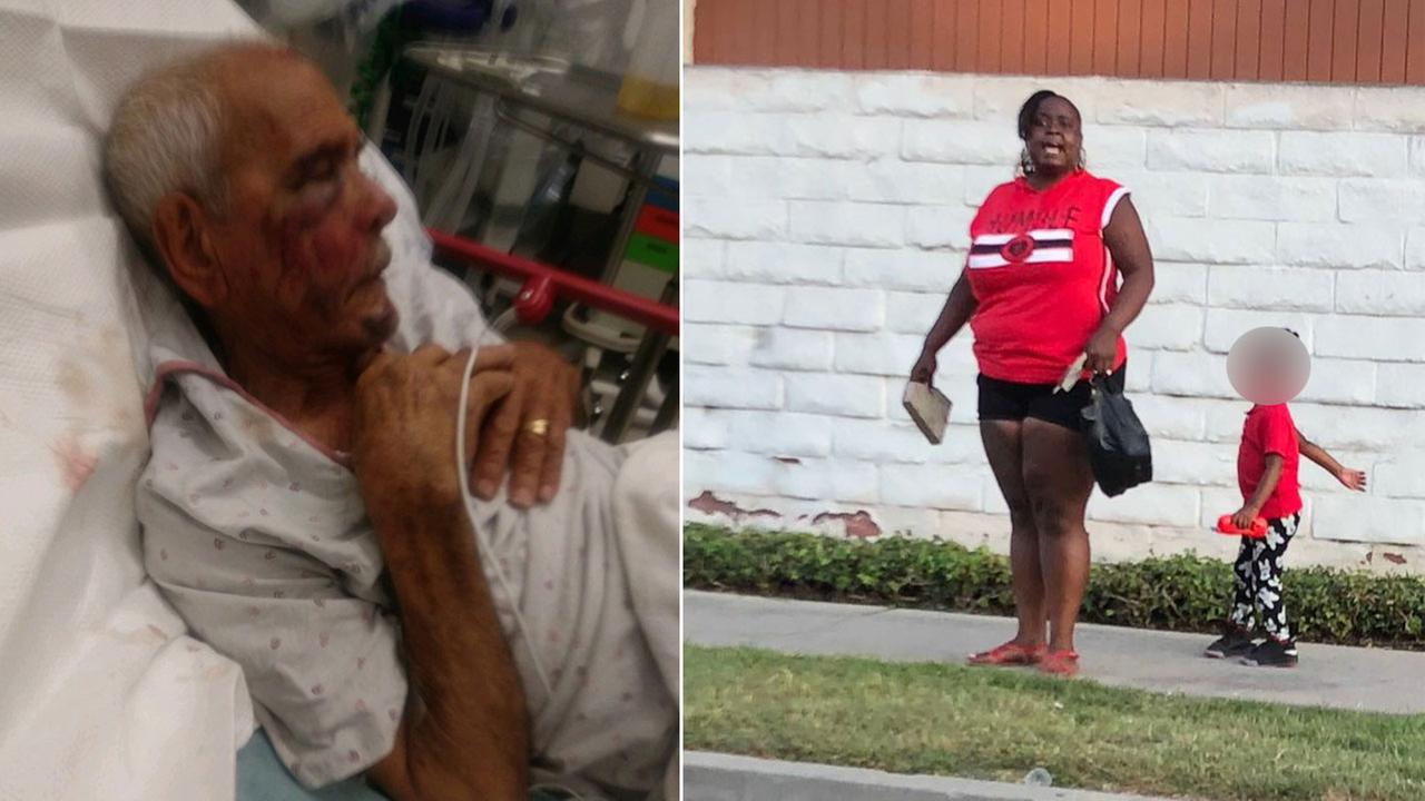 Woman arrested in beating of elderly man in Willowbrook