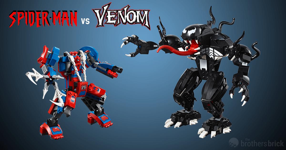 76115: Spider-Man Mech vs. Venom Mech