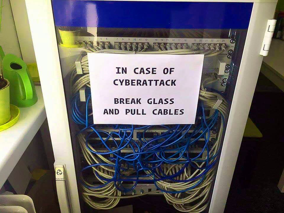 In Case Of CyberAttack