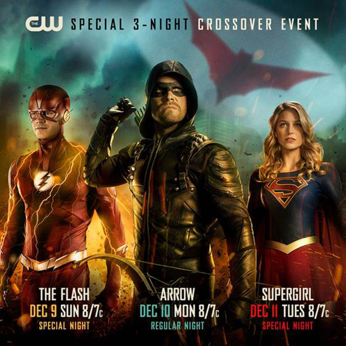 CW DC TV 3Night Crossover Event