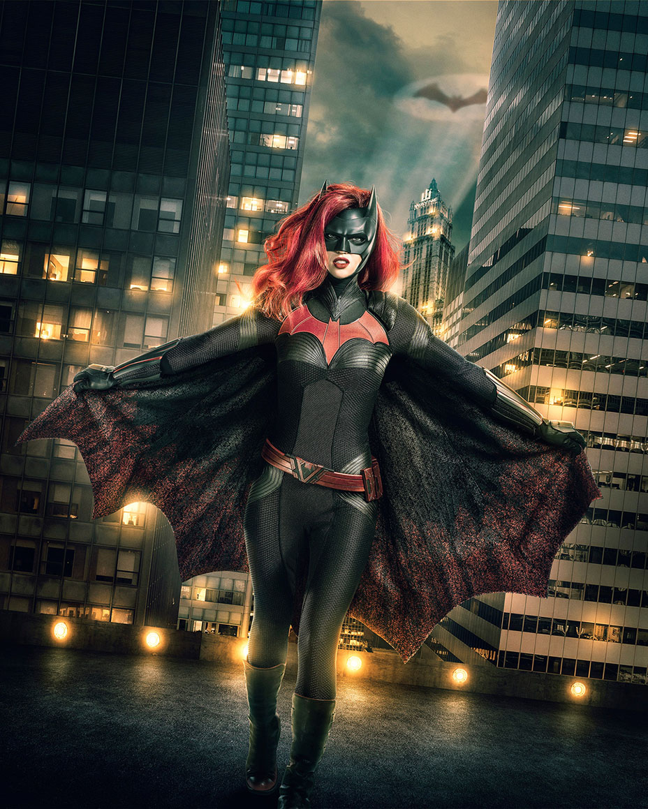 Ruby Rose as Batwoman official