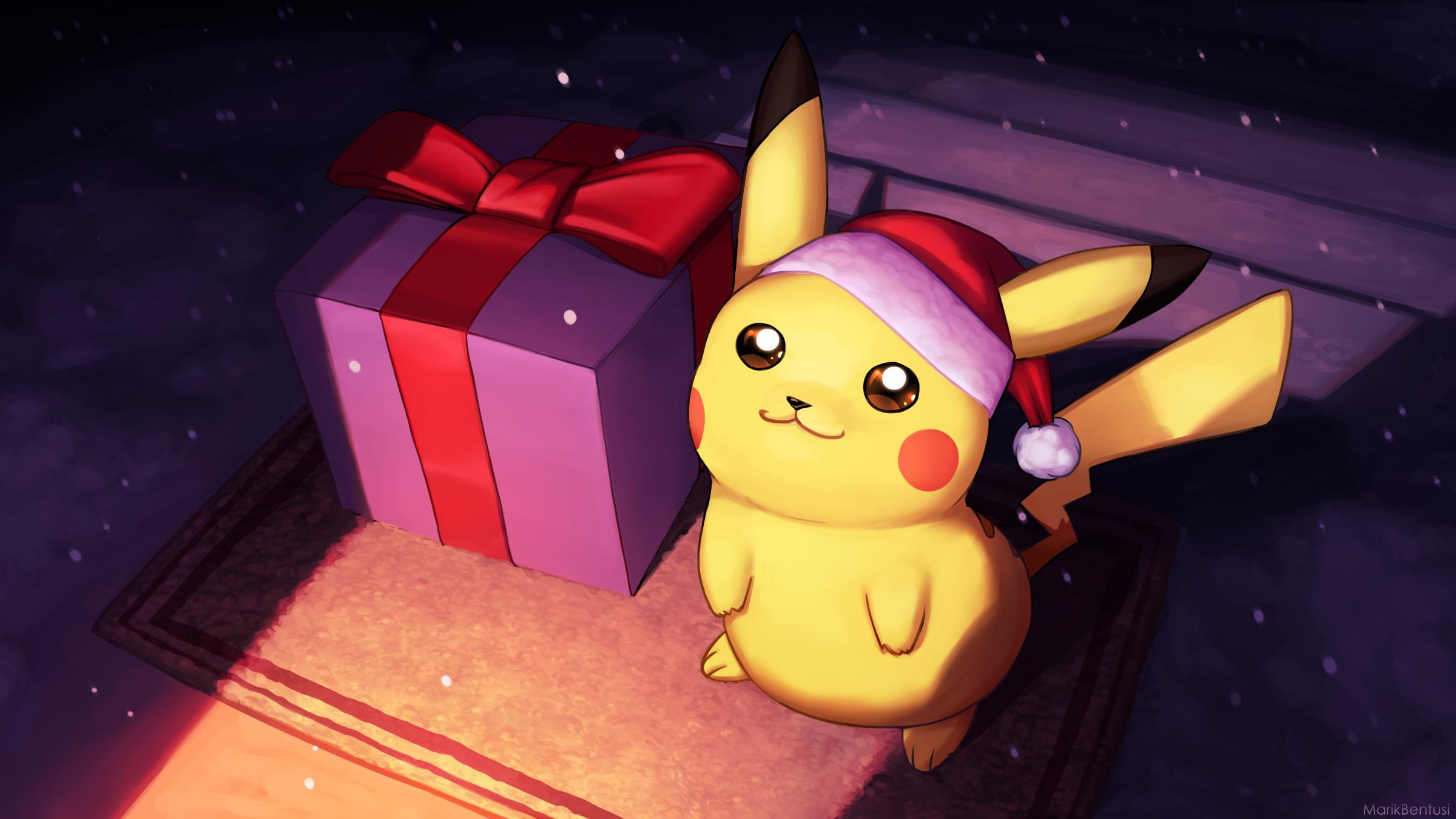 Christmas Pikachu.Christmas Pikachu Jpg Myconfinedspace