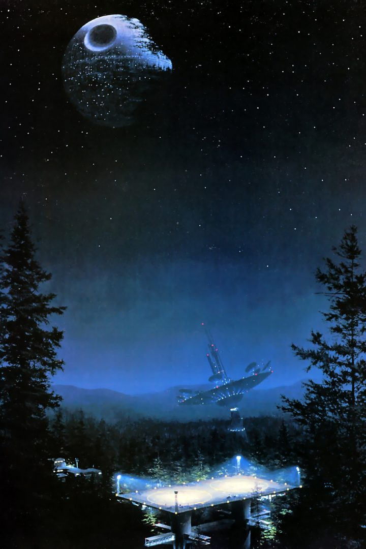 Return Of The Jedi On The Planet Moon Of Endor