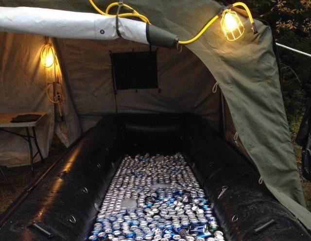 Innovator Bud Light Boat Beer Cooler | MyConfinedSpace