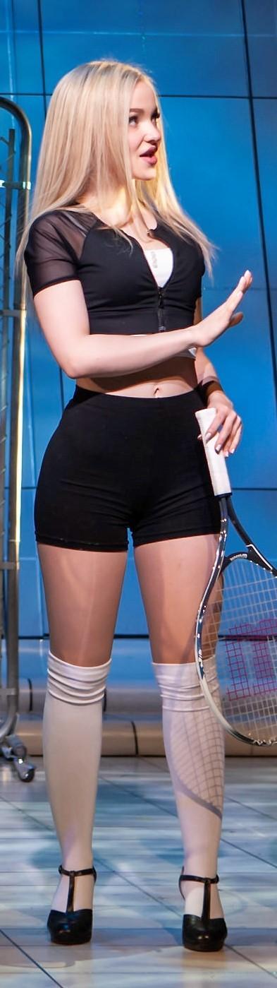 Dove Cameron is super sporty.jpg