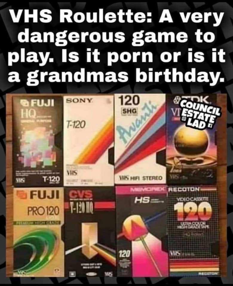 VHS Roulette