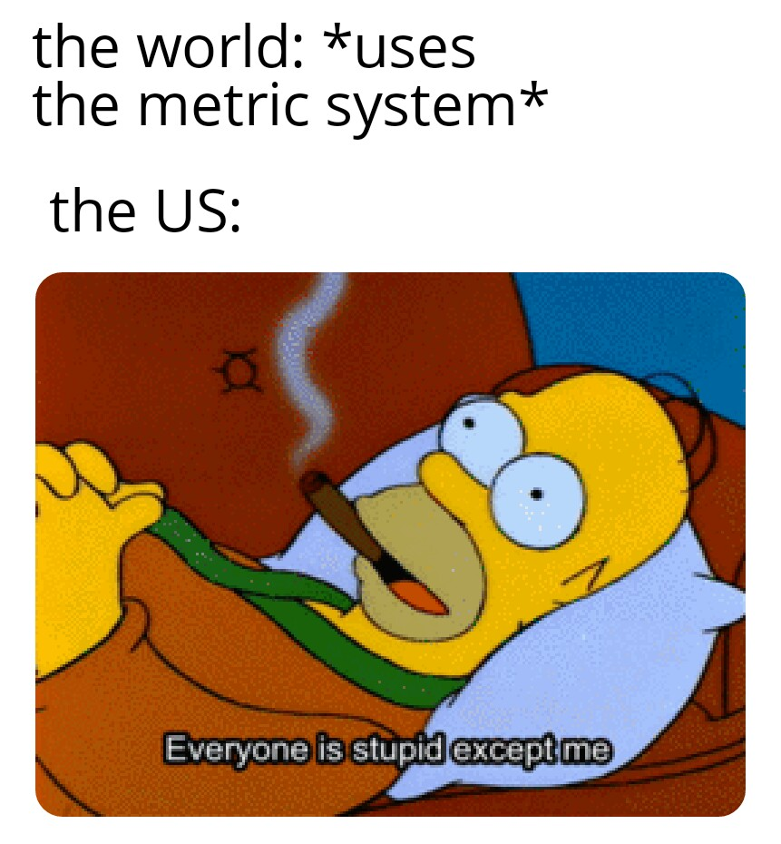 uses the metric system