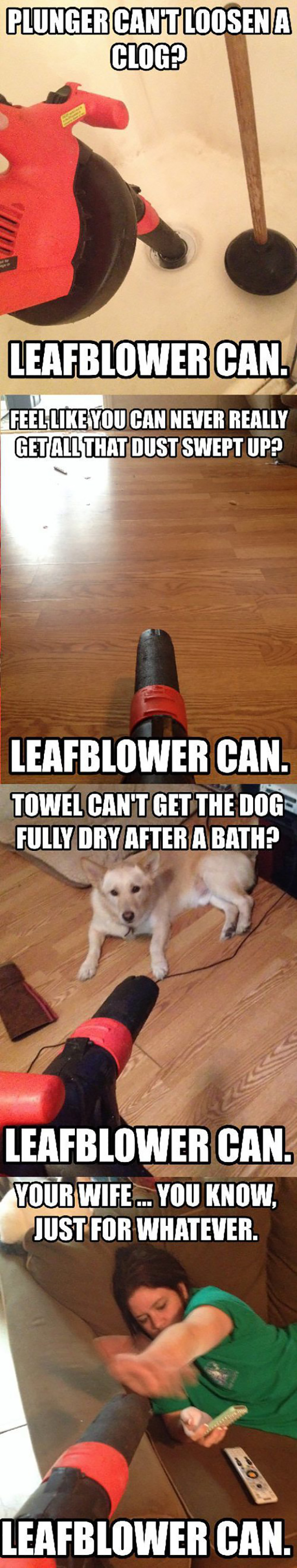 LEAFBLOWER CAN