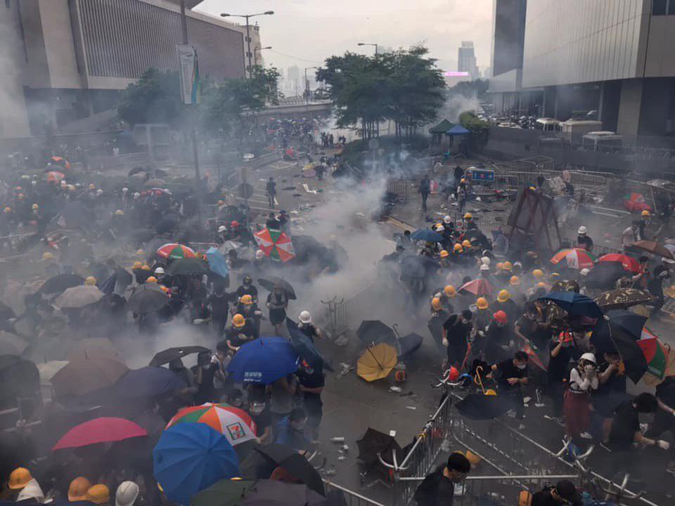 This is HongKong today.