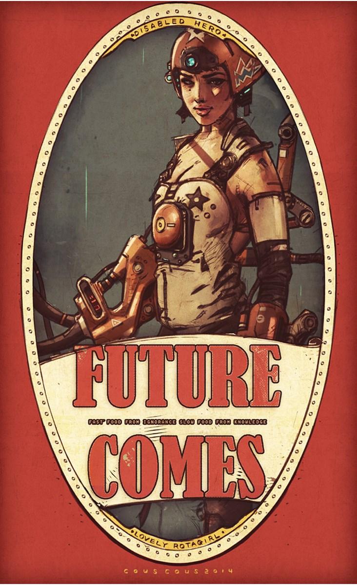 Team Couscous – Future Comes cyborgs