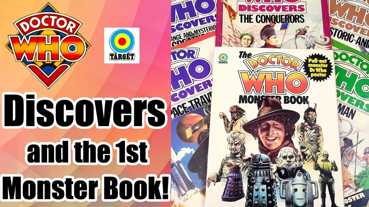 Doctor Who Discovers Target Books Series Plus The First Monster Book
