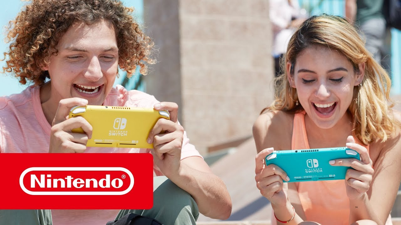 First Look at Nintendo Switch Lite A New Addition to the Nintendo Switch Family