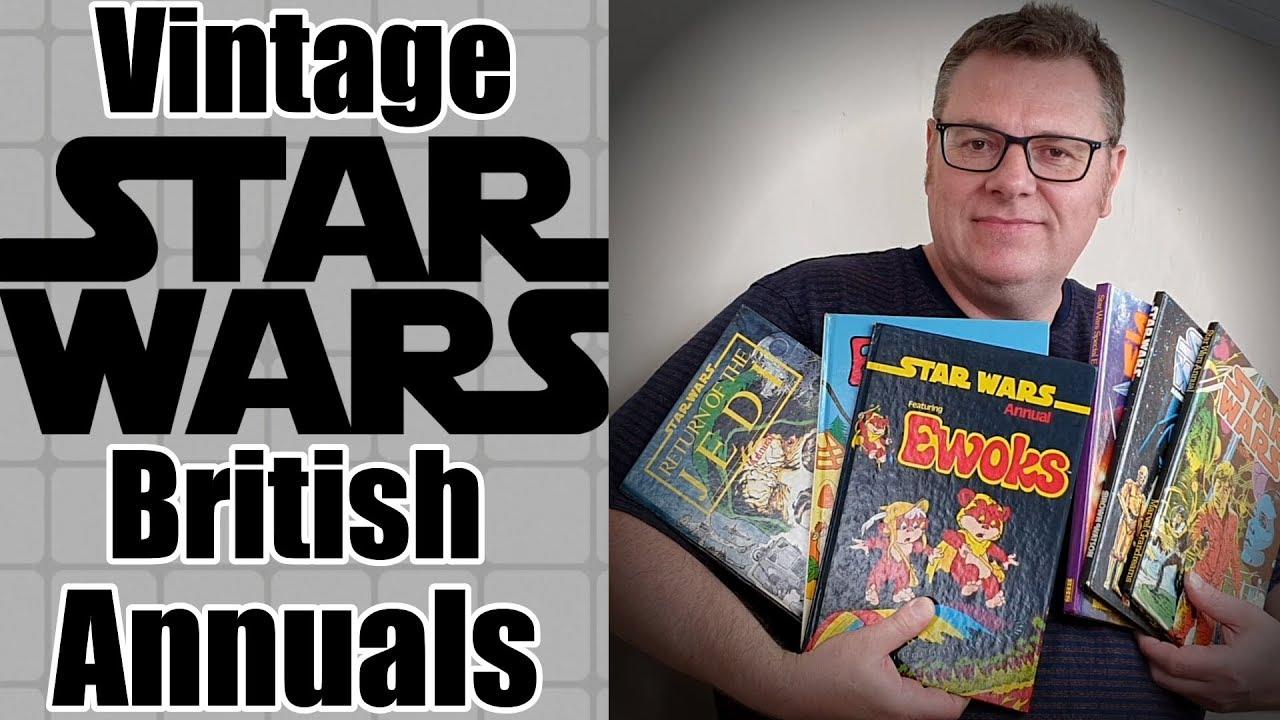 Vintage Star Wars British Hardback Annuals – Movie Adaptations Ewoks  More
