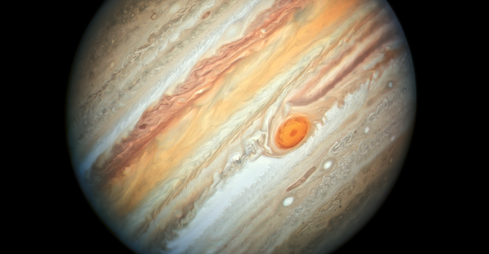 Jupiters Great Red Spot Is Behaving Strangely