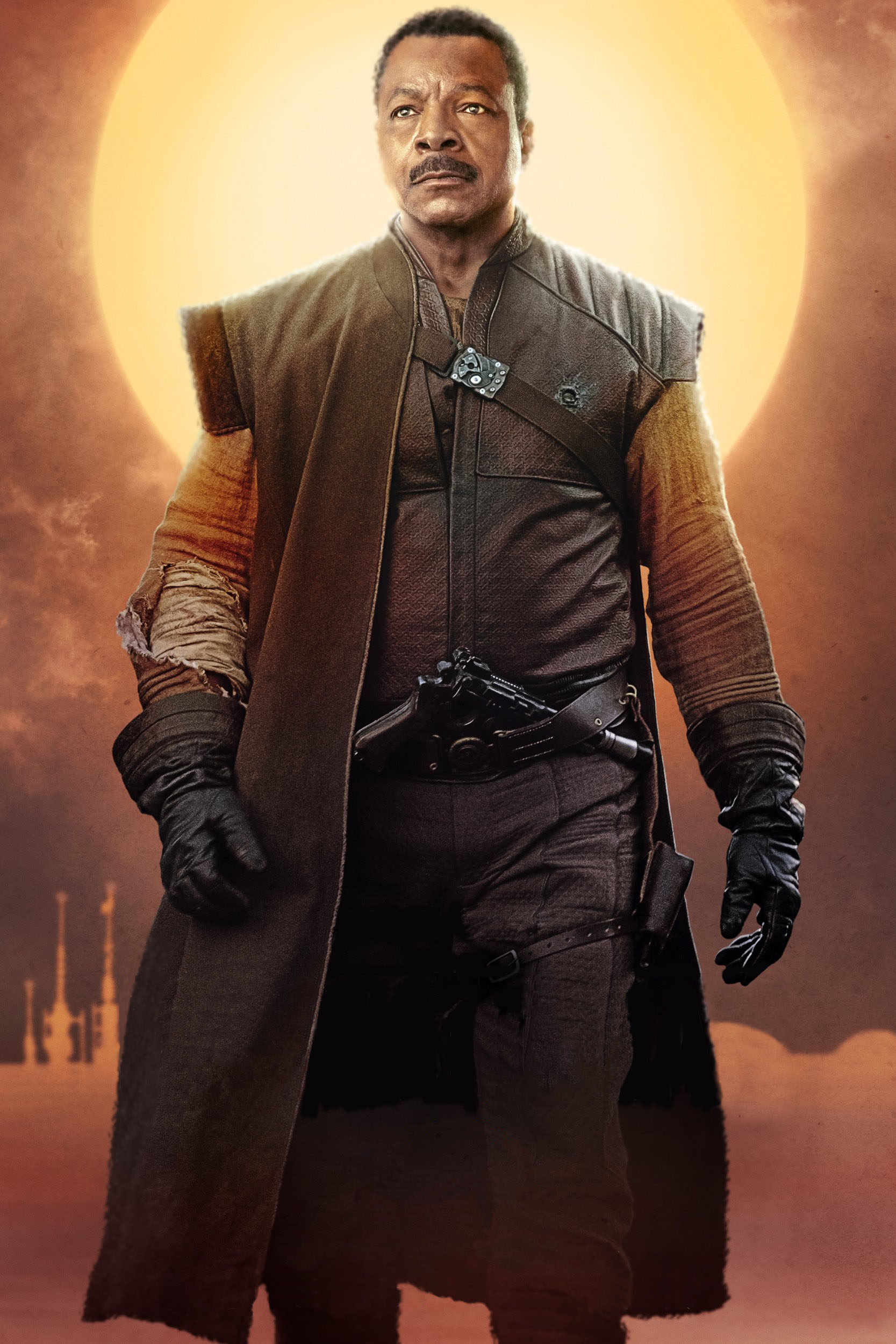 Star Wars The Mandalorian E28093 Textless Character Posters