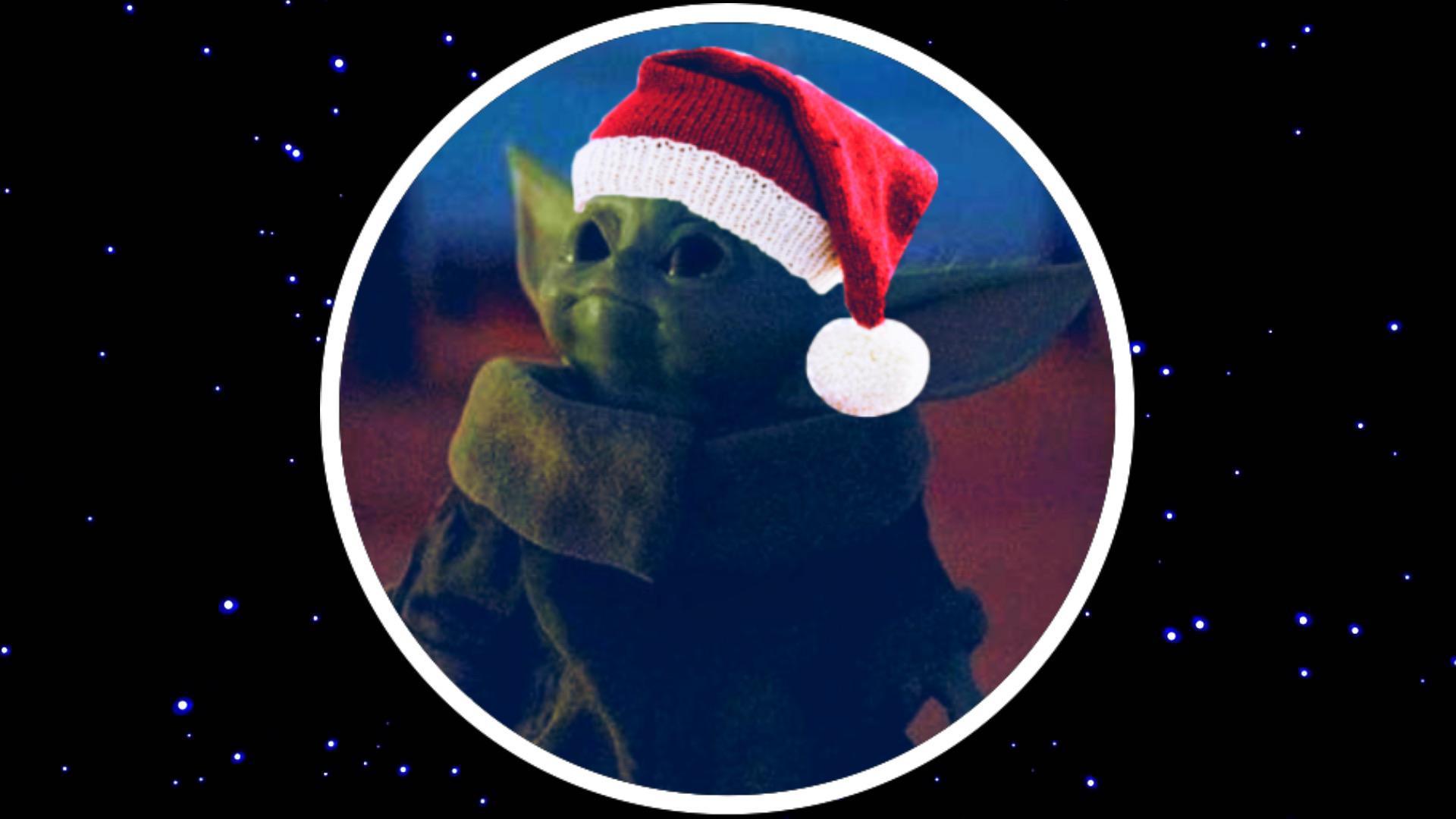 christmas yoda baby
