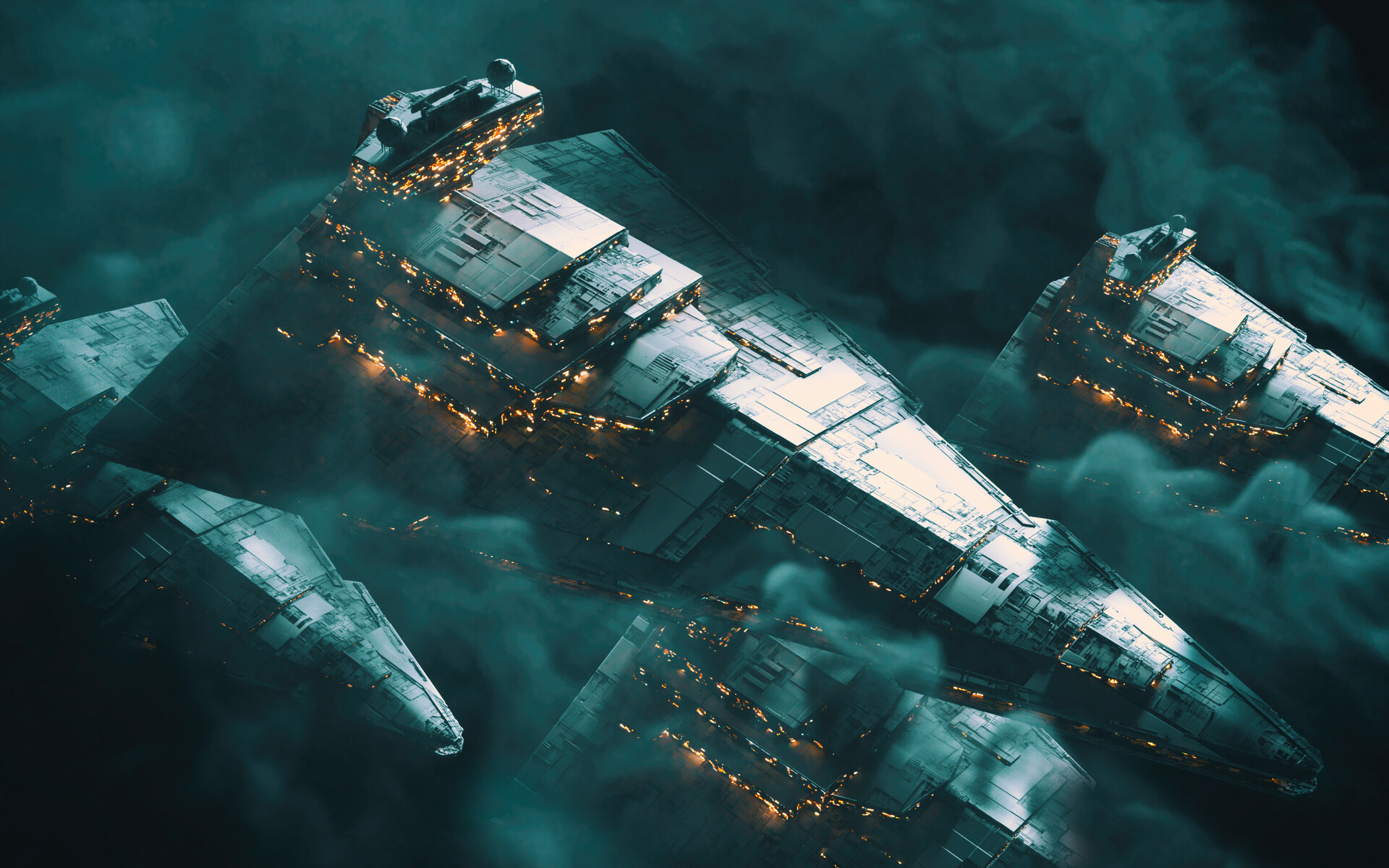 Rise Of Skywalker S Star Destroyers Myconfinedspace