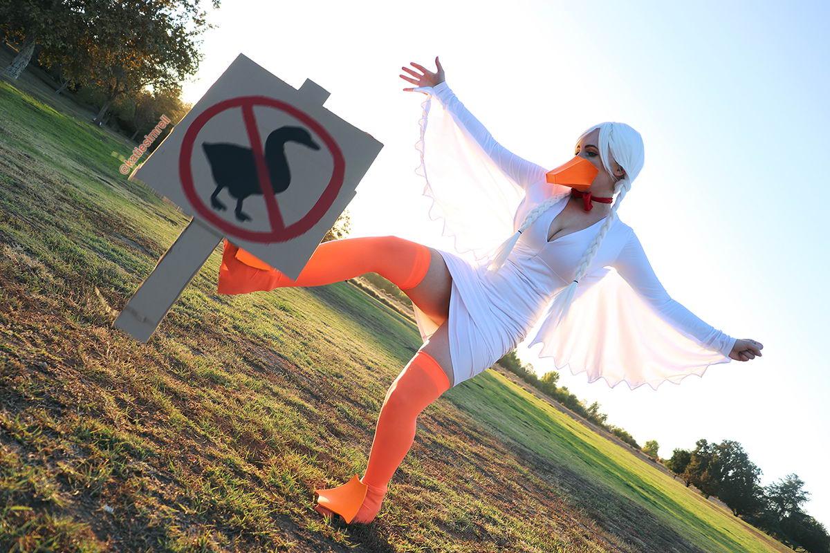 dangerous duck cosplay