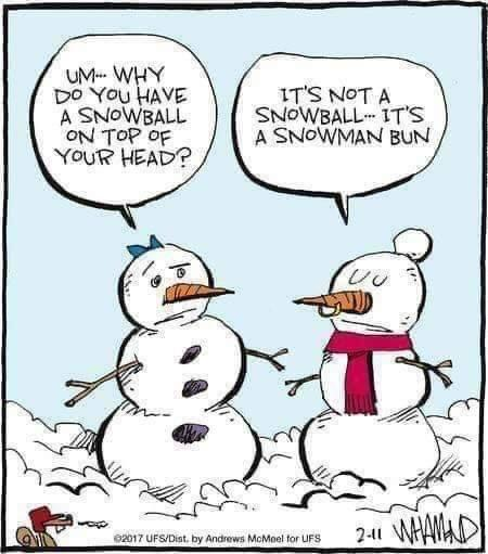 snowball head