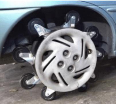 wheelie wheel