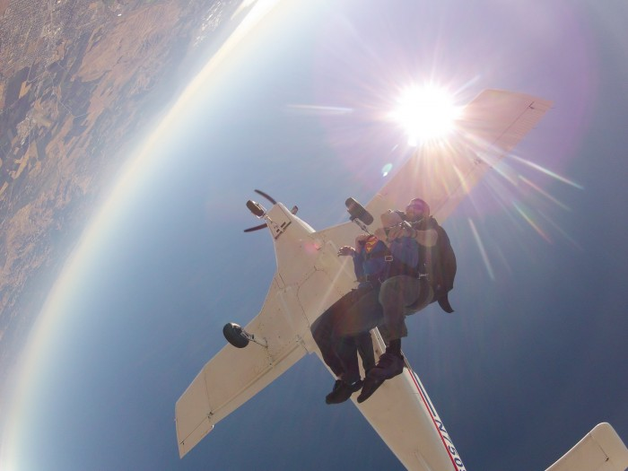 GOPR5318 700x525 Just do it  or  Look at me! I jumped out of a plane! skydiving Skydive plane parachute falling