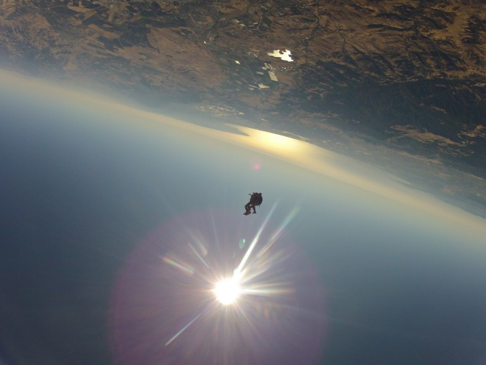 GOPR5330 700x525 Just do it  or  Look at me! I jumped out of a plane! skydiving Skydive plane parachute falling