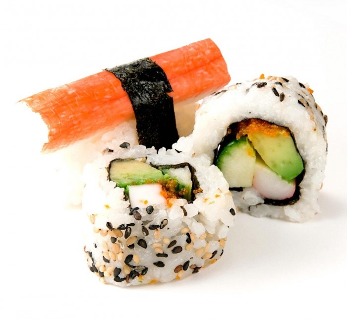 sushi lover 700x645 Delicious Raw Fish Wallpaper Food