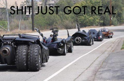Crisis of Infinite Batmobiles