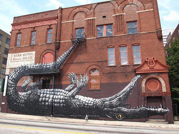 Alligator Graffiti