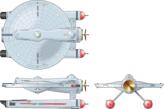 Star Trek kitbashes