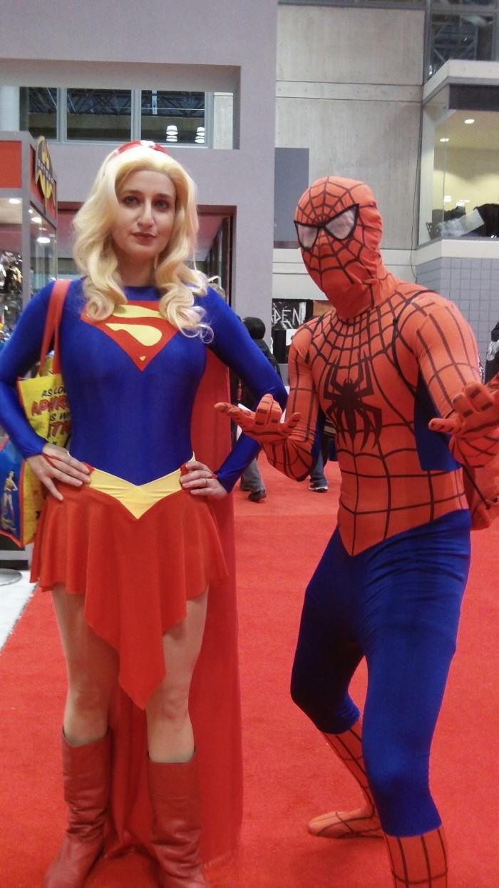 101 0557 700x1244 Comic Con NYC 2012 spider man hot chicks coplay comic con