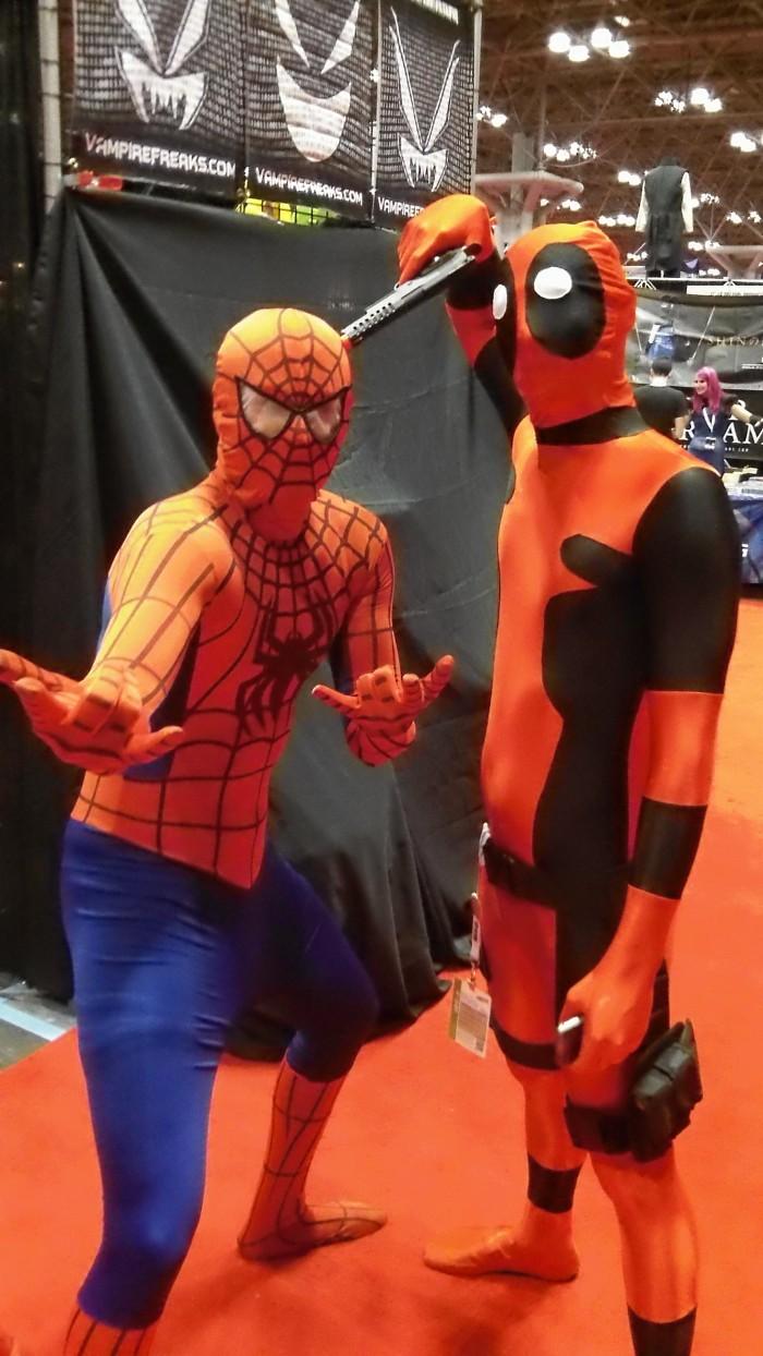 101 0564 700x1244 Comic Con NYC 2012 spider man hot chicks coplay comic con