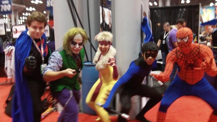 101 0594 700x393 Comic Con NYC 2012 spider man hot chicks coplay comic con