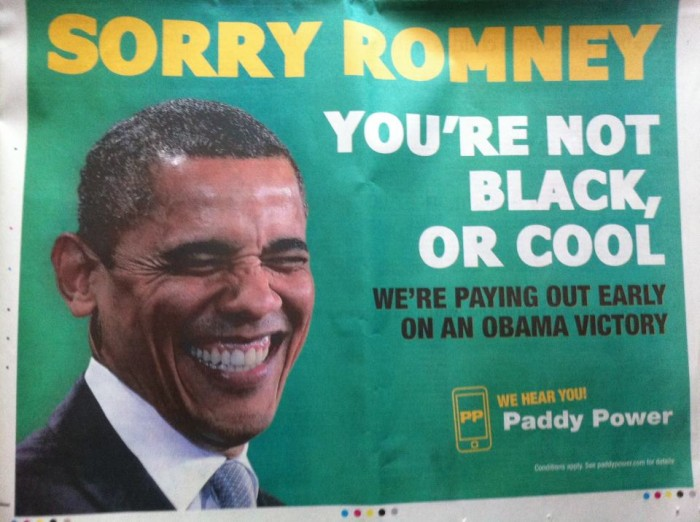 9265 504156379602312 802645173 n 700x522 From this mornings paper Racist Politics Humor advertisement