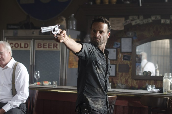 Andrew Lincoln Looking Badass
