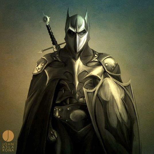 The Dark Knight Comics batman Art