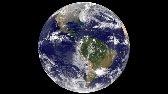 Earth with Sandy