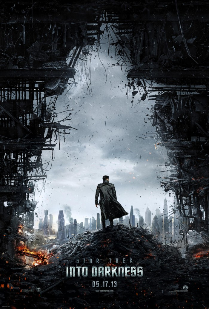 star trek into darkness poster 700x1037 Star Trek Into Darkness