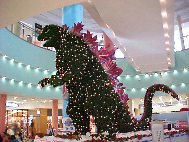 gojira img assist custom Godzilla Christmas tree Godzilla Christmas