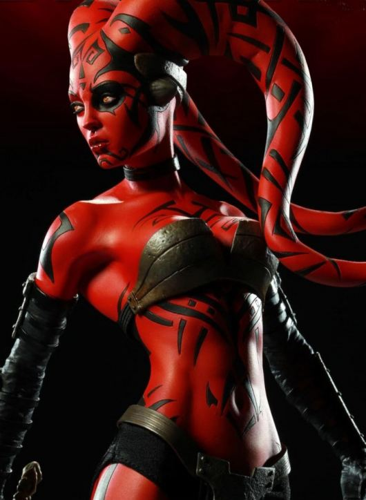 Darth Talon Perhaps shell be in one of the new Star Wars movies Toys thank Yoda were rid of Lucas star wars