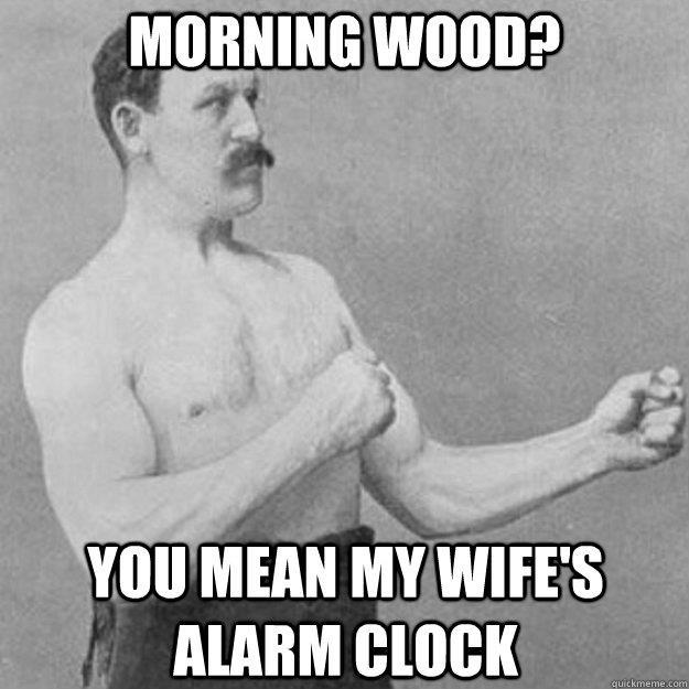 184852 487319677968305 1999137534 n My wife always hits the snooze :( funny